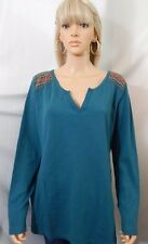 Women's Natural Reflections Plus Size 2X 22/24 Top Shirt Blouse *Free Shipping*
