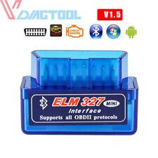 SUPER Mini OBD2 ELM327 V1.5 Bluetooth auto scanner Android COPPIA AUTO SCAN Strumento