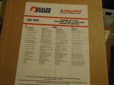 sealed power fits 2002-2005 dodge jeep 3.7l engine gasket kit  260 -1959