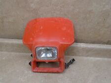 Honda 350 XR XR350 XR350-R Used Headlight Shroud 1984 HB257