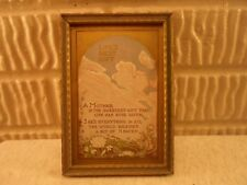 art deco picture frame, Poem-Life's Best Gift, 4 X 6 inches,    # 1117