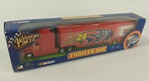 NASCAR Winners Circle Trailer Rig Transporter DuPont 200 Years 24 Jeff Gordon #1