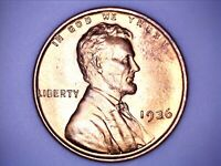 1936 Lincoln Wheat Cent Penny Uncirculated - 032102