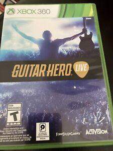 Guitar Hero Live Bundle (Microsoft Xbox 360, 2015)