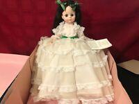 "2 Vintage Madame Alexander Scarlett Dolls Gone w/the Wind Series 14"" with box"