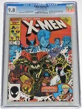 X-Men Annual 10 CGC 9.8. 1st app X-Babies. Longshot Joins X-Men. 1986. OW-WH pgs