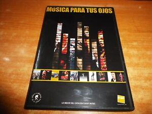 MUSICA PARA TUS OJOS DVD PROMO 2004 SONY MICHAEL JACKSON AC DC ACDC SKAKIRA