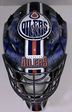 Mikko Koskinen Signed Auto Edmonton Oilers Full Size Replica Goalie Mask Psa/Dna