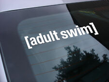 Adult Swim cartoon decal sticker
