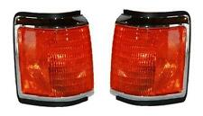 87 88 89 90 91 Ford F150 F250 F350 Truck Cornerlight Pair Set Both NEW Chrome