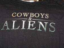 """""""Cowboys and Aliens"""" SDCC 2010 (comic con)T-Shirt Great Image –   Unique item"""