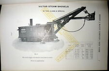 Mccoy Catalog 1910, Steam Shovels, Locomotives,  Dredge, Mining, Farm Machinery