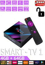 H96 Max Smart Android 9 TV Box 4K 4GB+64GB 5G WiFi BT4.0 HD Media Player / MXQ