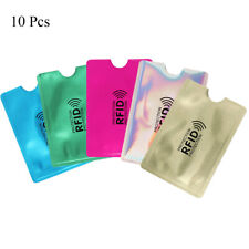 Credit Cards Card Holder Protect Case Cover RFID Blocking Sleeve Wallet