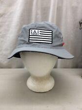 Bucket Hat Vintage Asphalt New York Red Blue White