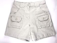 WOMEN'S L.L. Bean Khaki Shorts Size 4 Beige Pre-owned-#C28
