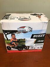 Berg Buzzy Jeep Sahara Kids Pedal Car Go Kart Green 2 - 5 Years New