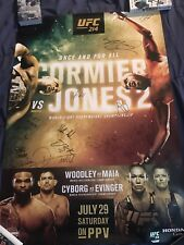 UFC 214 SIGNED POSTER BY THE ENTIRE CARD