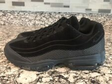 size 40 4f490 05e62 Men s Sz 8 Nike Air Max 95 Ultra PRM BR TRIPLE BLACK Suede Mesh AO2438-