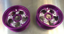Goped Pocket Bike 66/72mm Billet Slayer Rims-Purple