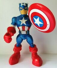 "Playskool Heroes Marvel Super Hero Adventures - Captain America 5"" Figure"