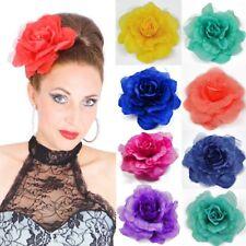 Pince à Cheveux Rose Broche Fleur Barrette Clip Parure pour Grand Plusieurs