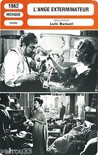 Fiche cinéma. Movie Card. L'ange exterminateur. 1962 (Mexique) Luis Buñuel
