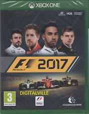 F1 2017 Xbox one Brand New Factory Sealed Formula Racing