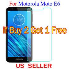 1x Clear LCD Screen Protector Guard Cover Film For Motorola Moto E6