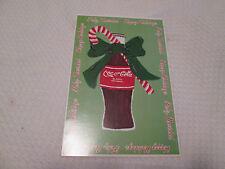 Coca Cola Classic Christmas Happy Holidays Postcard 1998 Feliz Navidad