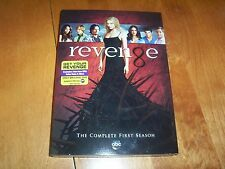 REVENGE COMPLETE FIRST SEASON 1 Classic ABC TV Series 5 DVD SET NEW SEALED