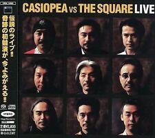 CASIOPEA - CASIOPEA VS THE SQUARE: LIVE NEW CD