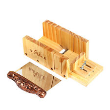 Loaf Soap Mold Cutter With Stainless Steel Blade Wooden Box Cutting Tool Set