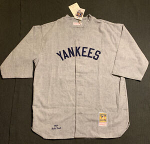 Mitchell & Ness Babe Ruth New York Yankees 1929 Authentic Jersey 100% Wool 2XL