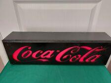 """More details for """"coca cola"""" light-up sign all original excellent condition very rare"""