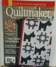 Quiltmaker Sept/Oct 2016 Winky 9 Patch Made Easy FREE SHIPPING