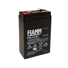 Fiamm FG10381 Batteria al piombo ricaricabile 6V 3,8Ah