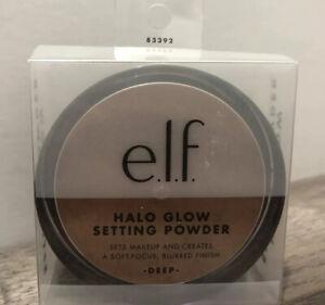 e.l.f. Halo Glow Setting Powder E.L.F. Soft Focus Finish DEEP