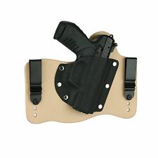 FoxX Holsters Leather & Kydex IWB Hybrid Holster Ruger SR22 Natural Tan Right