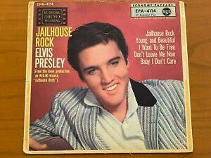 ELVIS PRESLEY EP 45 DE EPA 4114 german TOP OPEN First Edition 1957