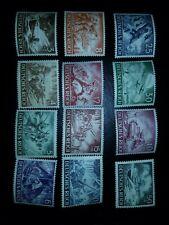 Stamp Germany Mi 831-42 Sc B218-29 1943 WWII 3rd Reich Wehrmacht MNH - #1133