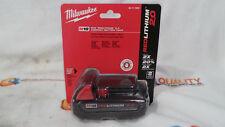 New Milwaukee 48-11-1820 M18 Red Lithium 18V Li-Ion Battery 2.0 Ah