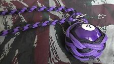 "Boule Billard N°4 ø52 mm Lanyard ""Self Defense/Survie"""
