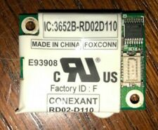 New listing Conexant Rd02-D110 3652B-Rd02D110 Mini Pci Dial Up Modem 56K.