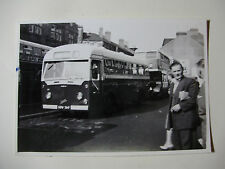 WALES248 - 1950s NEWPORT CORPORATION OMNIBUSES ~ BUS No40 PHOTO Wales