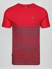 Luke 1977 1/2 Breton Mens Designer Short Sleeve Crew Neck Stripe T-Shirt