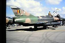 2/73-2 Dassult SABCA Mirage 5BD C/N 203 Belgium Air Force   Kodachrome  SLIDE