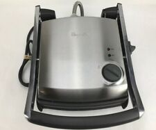 BREVILLE Panini Grill Press TG425XL Brushed Stainless Steel~ 1500 Watt
