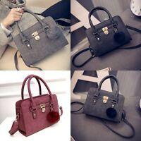 Fashion Ladies Bags PU Leather Tote Satchel Bag Handbag Women's Quality Shoulder