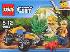 LEGO 60156 Dschungel Buggy Abenteurer Spinne Machete verborgener Diamant NEU OVP